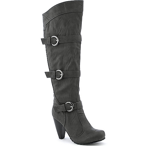 De Blossom Sashi-2 grey knee high  boot