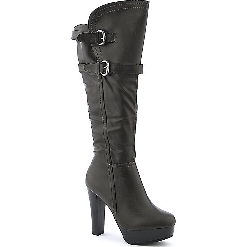 De Blossom Wilona-1 platform high heel knee high boot