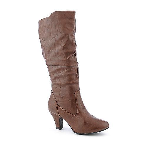 47293a33cbe De Blossom Brand-22 low heel mid calf boot