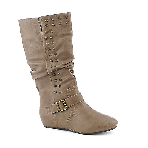 Wild Diva Candies-111 knee high flat boot
