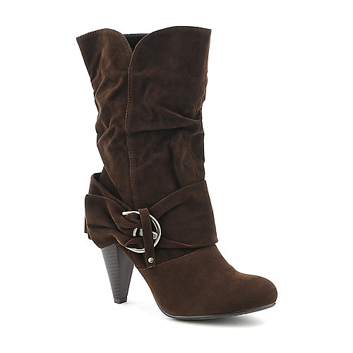 Pierre Dumas Omega-9 mid calf high heel boot