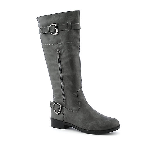 Bumper Freda-20 knee- high low heel boot