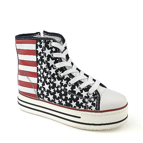 Shiekh Flag-S casual platform lace up wedged sneaker