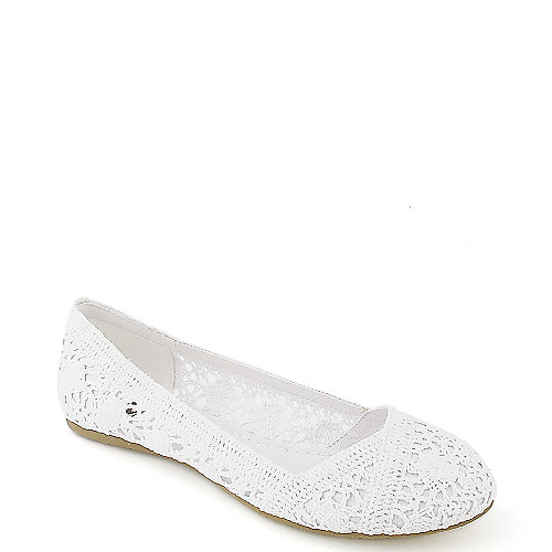 Shiekh Faddy-S white flat slip on casual shoe