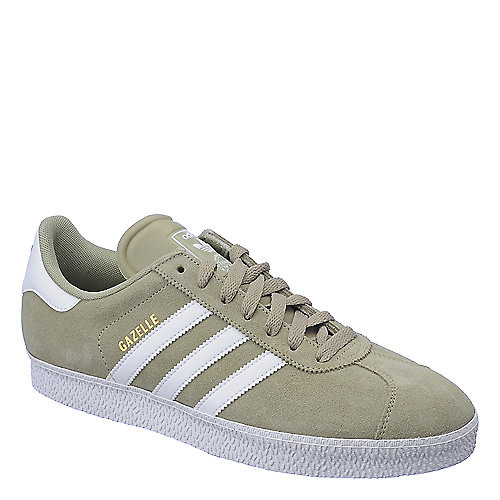 Adidas Gazelle II grey and white athletic lifestyle sneaker