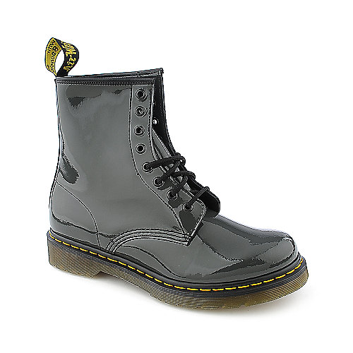 Dr. Martens Womens 1460 grey 8 eye combat boot