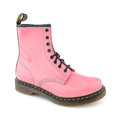 Dr. Martens Womens 1460 pink 8 eye combat boot