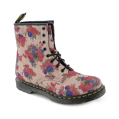 Dr. Martens Womens 1460 Castle multi color combat boot