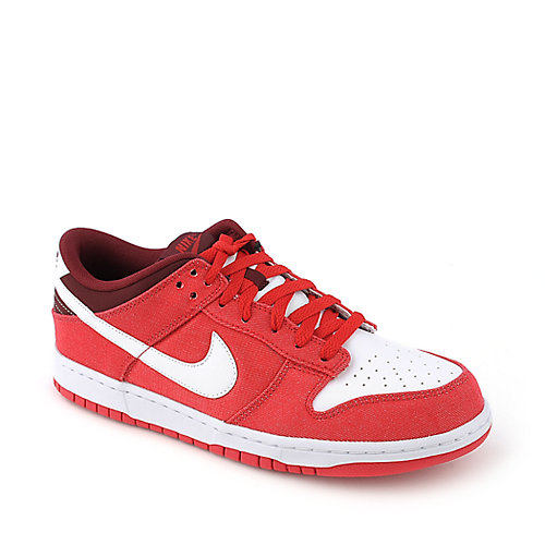 Nike Dunk Low mens red athletic sneaker