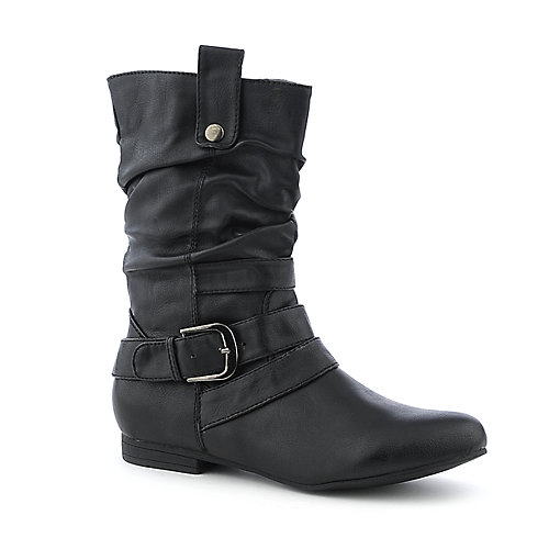 DbDk Meley-8 western low heel mid calf riding boot