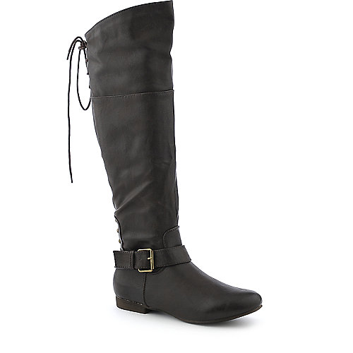 DbDk Alasca-1 low heel knee high riding boot