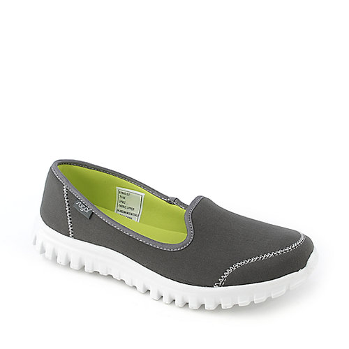 Sugar Strike Out grey casual slip on flat shoe