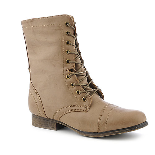 Madden Girl Gamer midcalf low heel combat boot