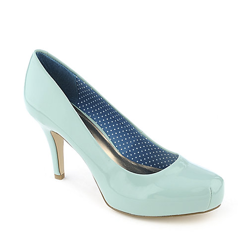 Madden Girl Getta mint green womens high heel pump