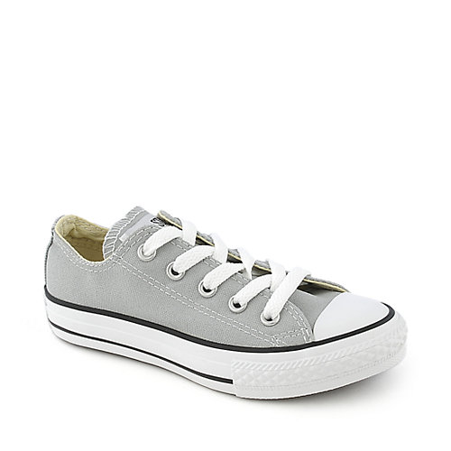 Converse Youth Chuck Taylor OX grey running sneaker