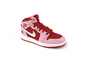 Kids Girls Air Jordan 1 Mid Prem (GS)