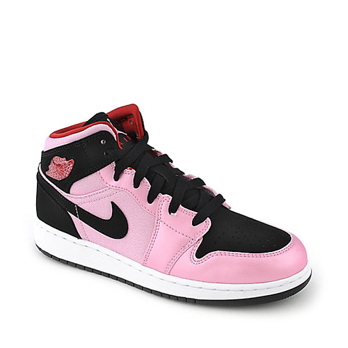 Nike Jordan Girls Air Jordan 1 Mid (GS) youth sneaker