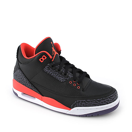 Air Jordan 3 Retro mens athletic basketball sneaker
