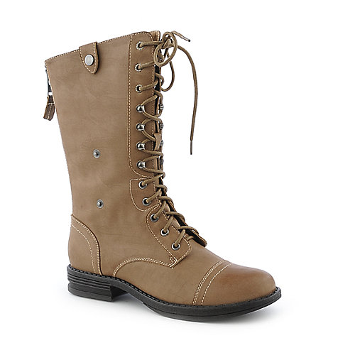 Madden Girl Zorrba low heel mid calf combat boot