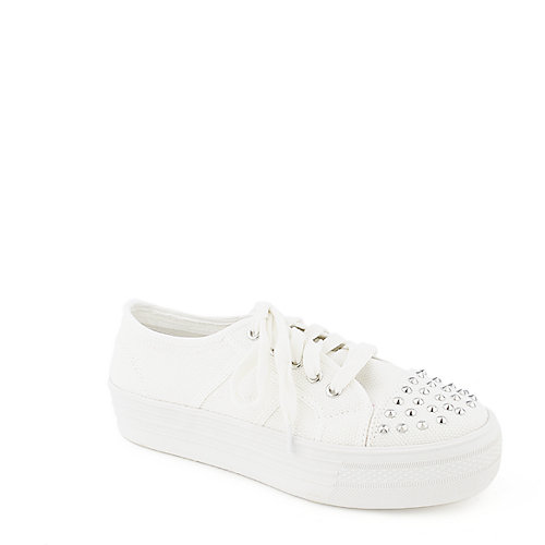 Madden Girl Bookie platform lace up sneaker