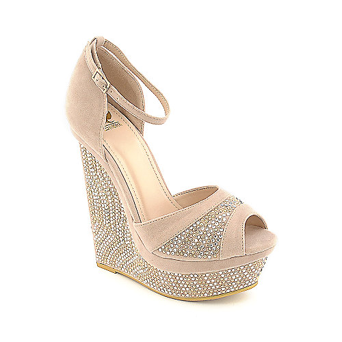 Shiekh 093 Platform Wedge taupe