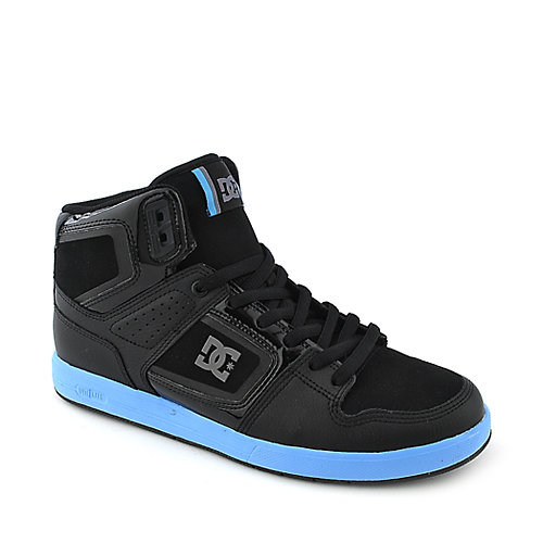 DC Factory Lite High mens black athletic skate sneaker