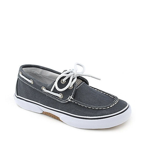 Sperry Top-Sider Kids Halyard blue slip on boat shoe