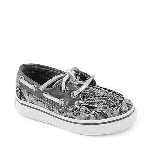 Sperry Top-Sider grey toddler boat shoe