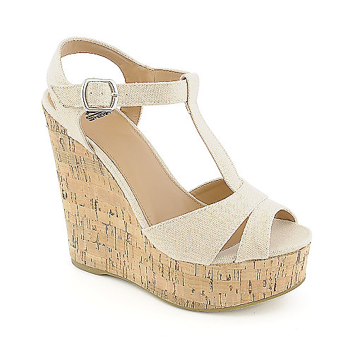 Shiekh Path-S casual nude platform wedge shoe