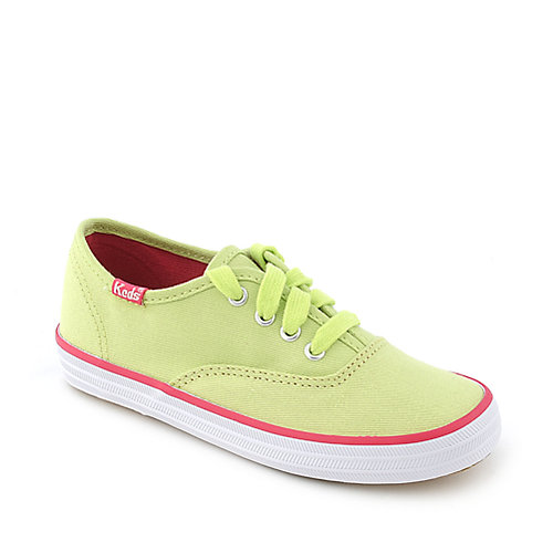 Keds Original Champion lime green toddler casual sneaker