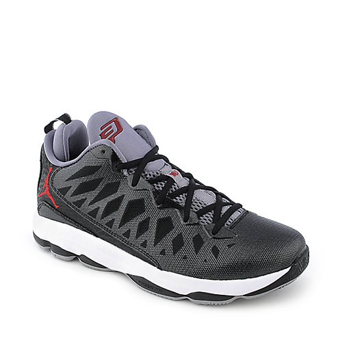 Jordan CP3.VI mens black and red athletic basketball sneaker