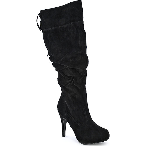 Anne Michelle Captivate-03 womens knee high platform high heel boot