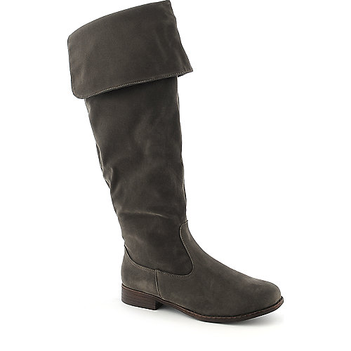 Dollhouse Moscow womens knee high western low heel riding boot