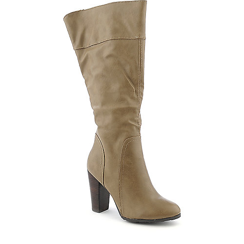 Dollhouse Spirit womens taupe knee high boot