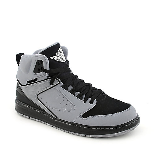 de2888e15c88b0 Jordan Sixty Club mens grey and black athletic basketball sneaker