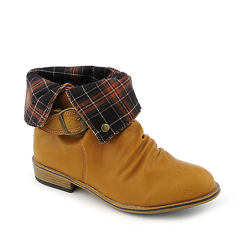 Bamboo Parksville-12 womens low heel ankle boot