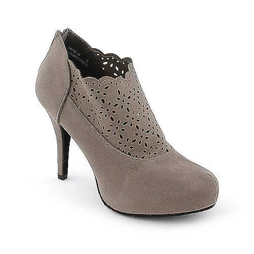 Bamboo Rhythm-68 womens high heel platform ankle boot