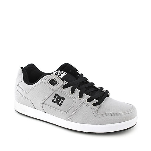 DC Factory Lite TX grey athletic skate sneaker