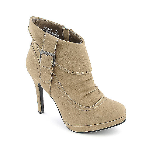 Anne Michelle Villain-09N womens platform high heel ankle boot