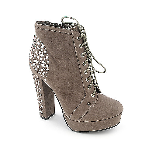 Bamboo Zooey-09 womens platform high heel ankle boot
