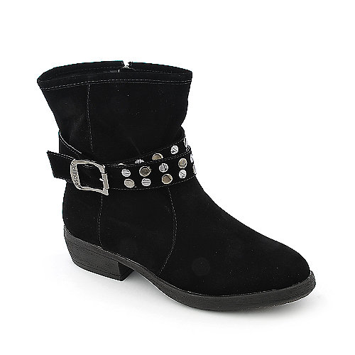 Dollhouse Marvelous womens low heel ankle riding boot