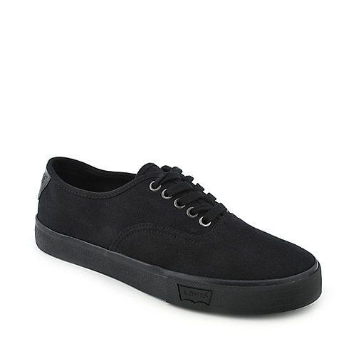 Levi's Jordy mens black casual lace up sneaker