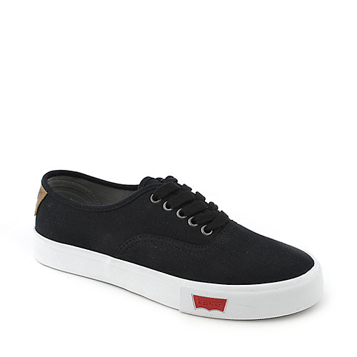 Levi's Jordy mens black and white casual lace up sneaker