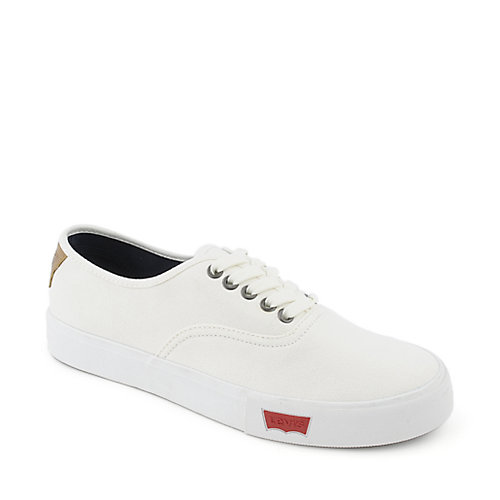 Levi's Jordy mens white casual lace up sneaker