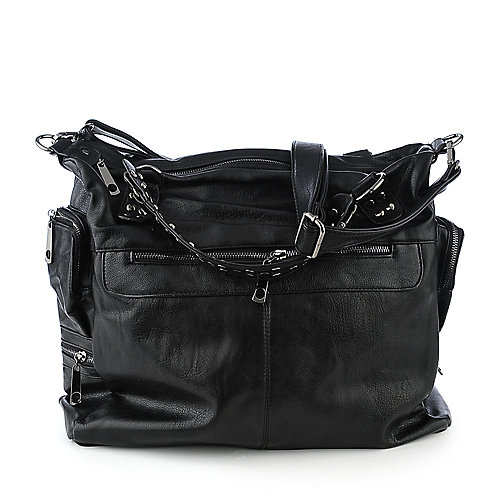 nuG Tote Handbag black satchel shoulder bag