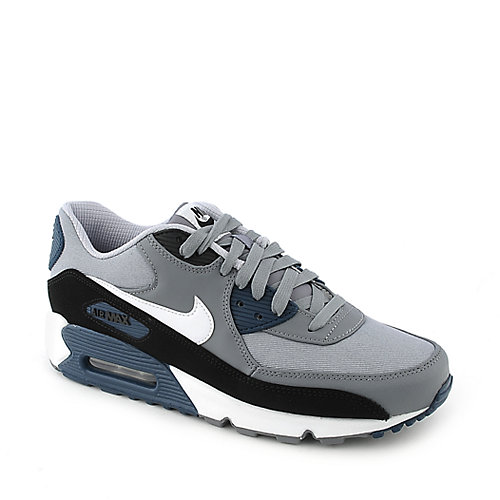 Nike Air Max 90 Premium mens grey athletic running sneaker