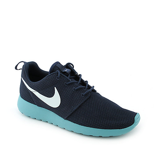 Nike Rosherun mens blue athletic running sneaker