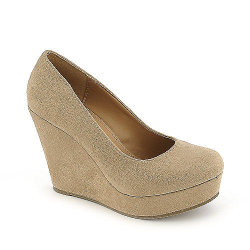 Shiekh Womens Beer-S beige platform wedge