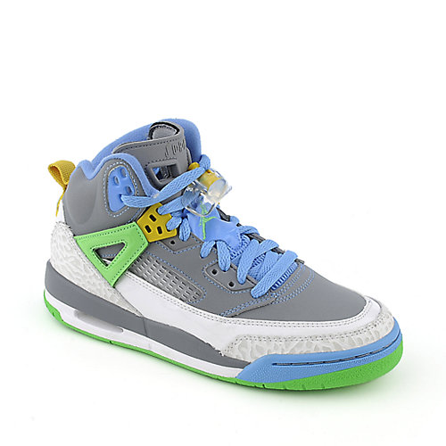 Jordan Spizike (GS) youth grey athletic basketball sneaker