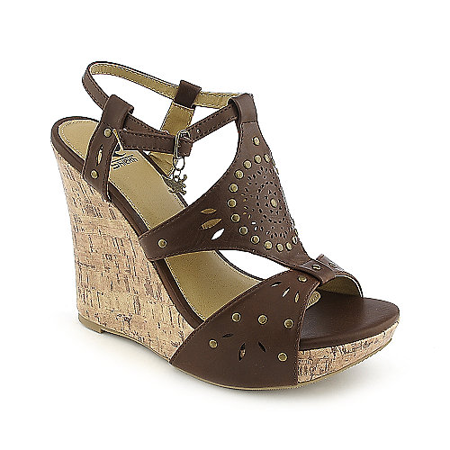Shiekh Rizzo-S brown casual platform wedge shoe